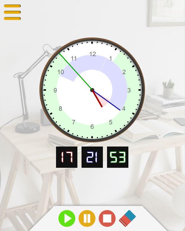 pour horloge murale Entreprise italienne sp/écialis/ée. aiguilles en m/étal hauteur de la douille de 16/mm filetage 10/mm Clock-it M/écanisme d/'horloge de qualit/é silencieux avec rotation continue